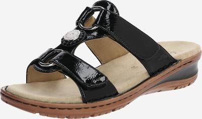 ARA Zapatos abiertos 'HAWAII' en negro, Vista del producto
