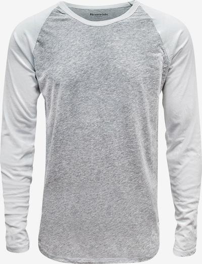 Resteröds Shirt 'ORIGINAL Baseball' in de kleur Grijs gemêleerd / Wit, Productweergave