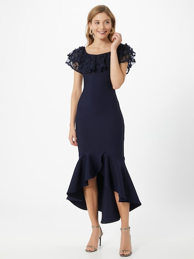 Forever Unique Kleid 'Navy' in navy, Modelansicht