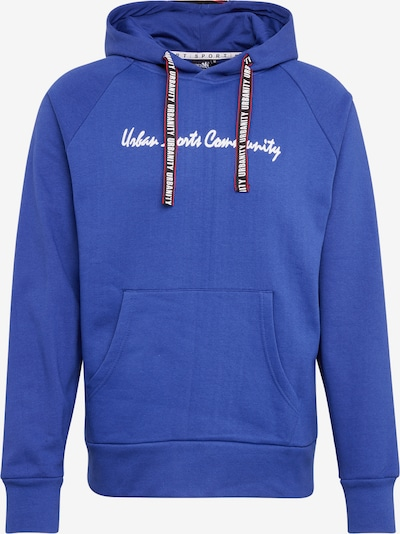 Hailys Men Sweatshirt 'Hoodie Urban' in kobaltblau, Produktansicht