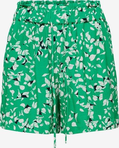 SELECTED FEMME Bedruckte Shorts in grün: Frontalansicht