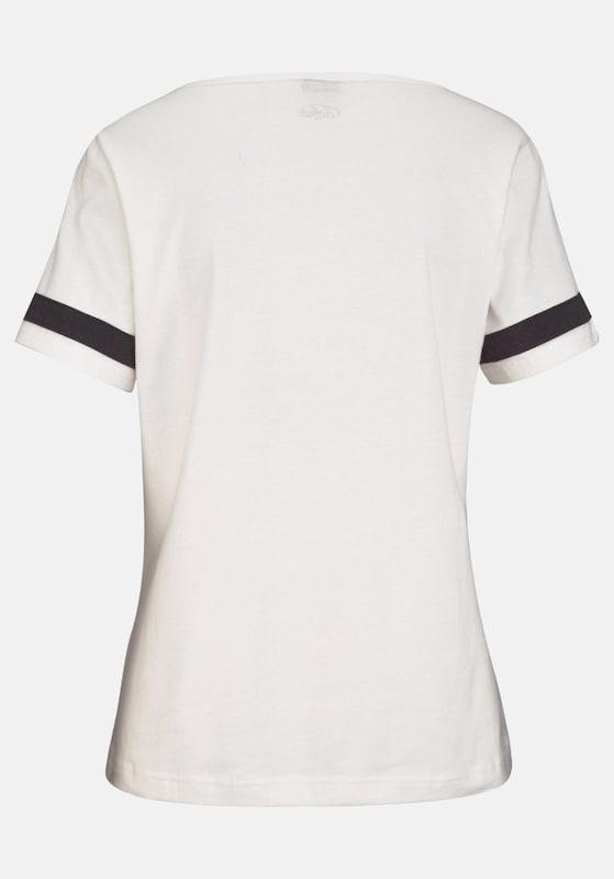 BUFFALO Kurzarmshirt mit lässigem Frontprint und Shorts