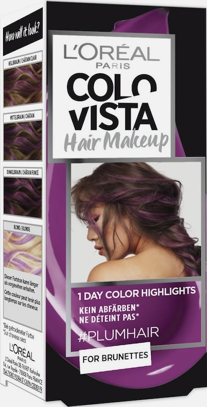 COLOVISTA Hair Make-Up '1-Day-Color-Highlights' in pflaume, Produktansicht
