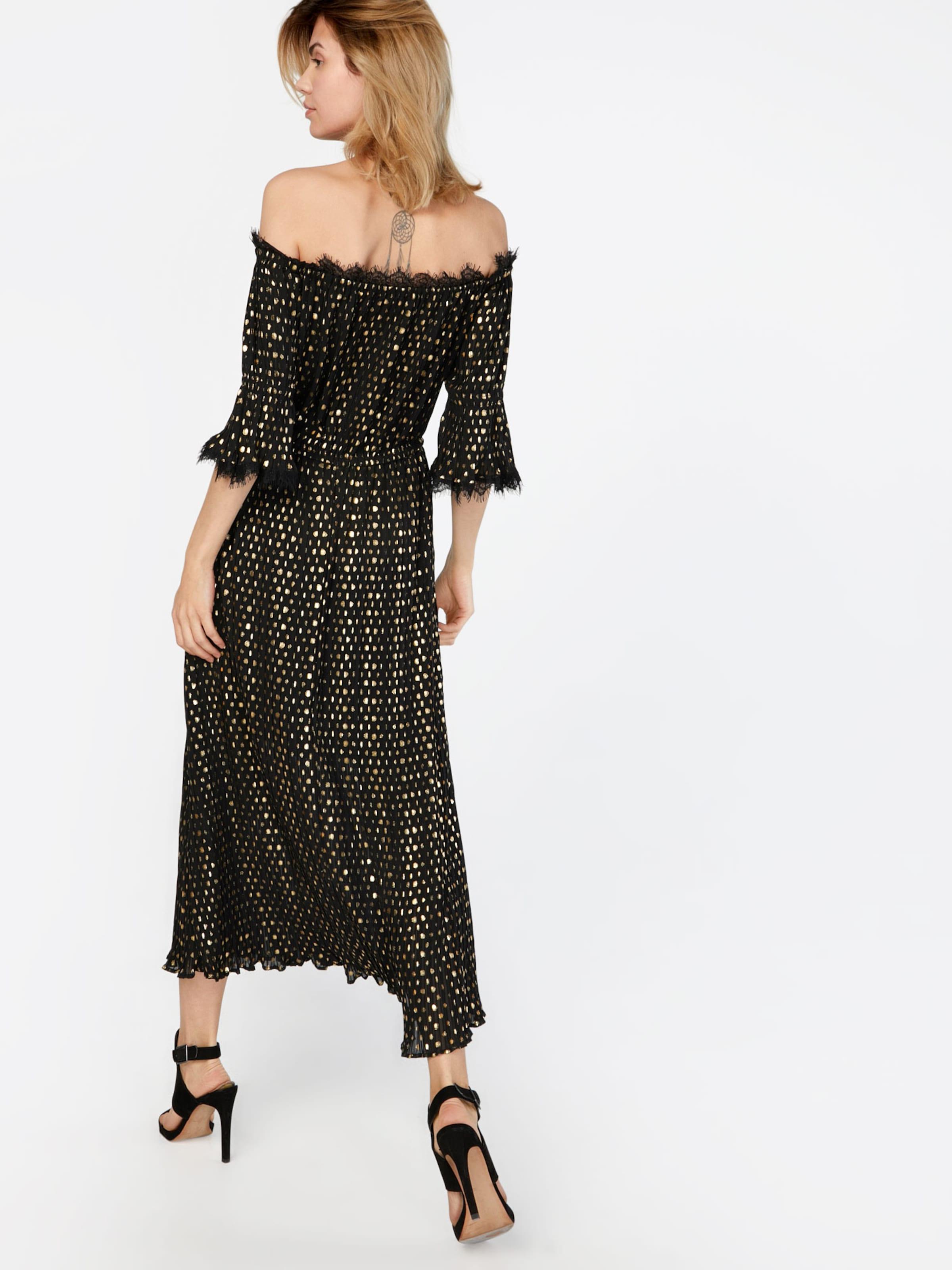 The Kooples Kleid 'LONG POLKA-DOT' Erhalten Authentisch 2018 Online-Verkauf X3Acg