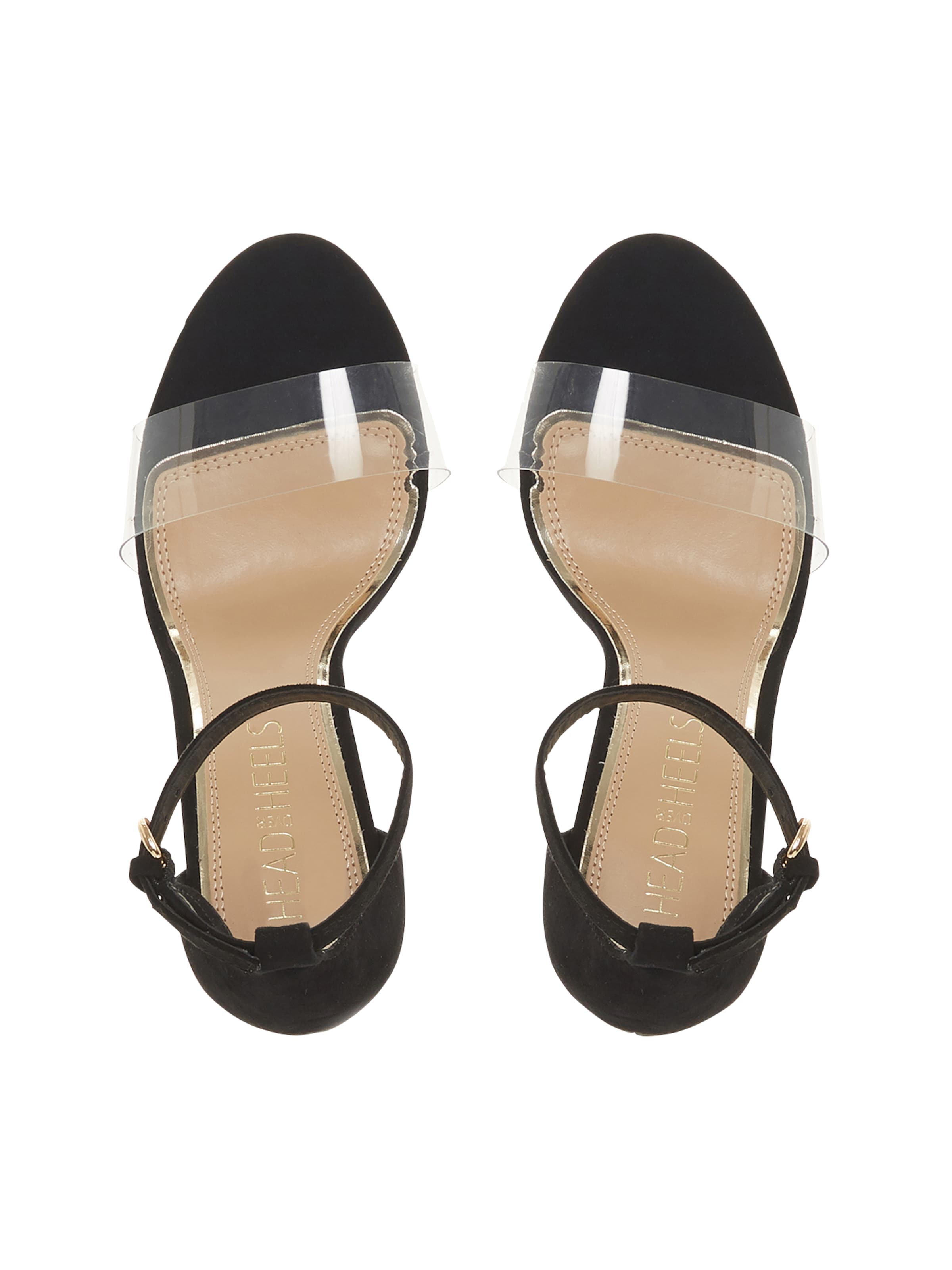 Over Heels Schwarz Head In Sandalette MSVGqzUp