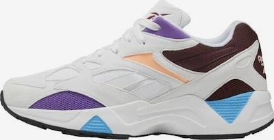 Reebok Classic Sneaker 'Aztrek 96' in dunkelbraun / dunkellila / apricot / weiß, Produktansicht