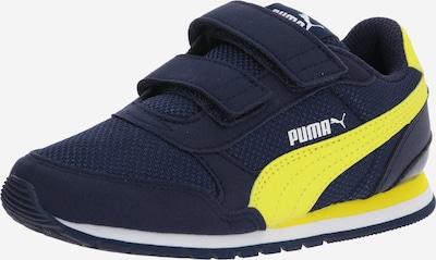 PUMA Sportschoen 'ST Runner v2' in de kleur Navy / Geel, Productweergave