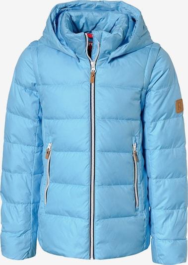 Reima Daunenjacke 'Minna' in hellblau, Produktansicht