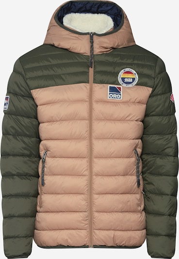 JACK & JONES Winterjas 'Jorjosh' in de kleur Beige / Kaki, Productweergave