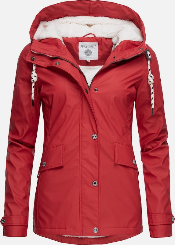 Peak Time Jacke in rot, Produktansicht