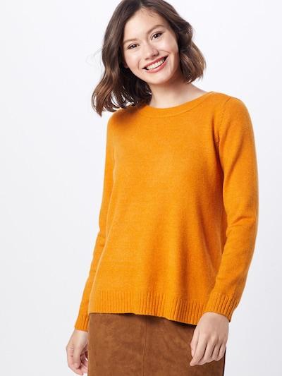 VILA Pullover in orange, Modelansicht