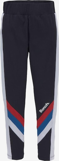 BENCH Leggings in navy / royalblau / rot / weiß, Produktansicht