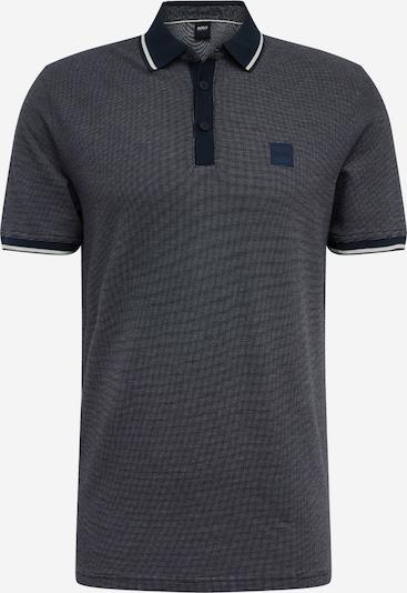 Marškinėliai 'Partey' iš BOSS , spalva - tamsiai pilka / margai pilka, Prekių apžvalga