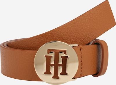 TOMMY HILFIGER Opasky 'Round 3.0' - koňaková / zlatá, Produkt
