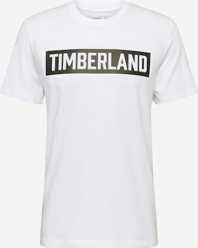 TIMBERLAND T-Shirt en noir / blanc, Vue avec produit