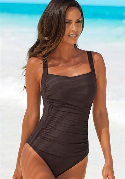 LASCANA Badeanzug in schoko, Modelansicht