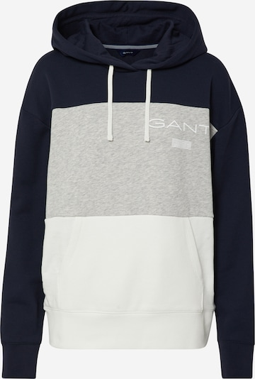 GANT Bluzka sportowa w kolorze ciemny niebieski / szary / białym, Podgląd produktu