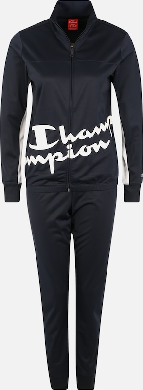 Champion Authentic Athletic Apparel Survêtements en bleu marine / blanc, Vue avec produit