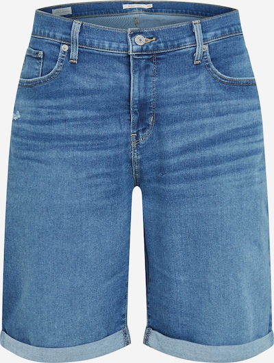 Levi's® Plus Jeansshorts  'PL SHAPING BERMUDA' in blue denim, Produktansicht