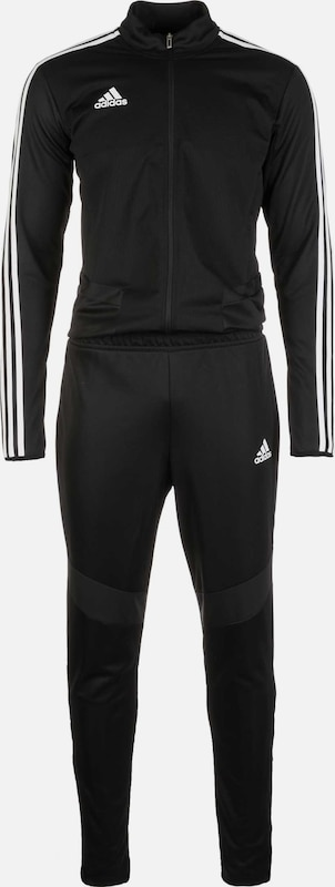 ADIDAS PERFORMANCE Trainingspak 'Tiro 19' in de kleur Zwart / Wit, Productweergave