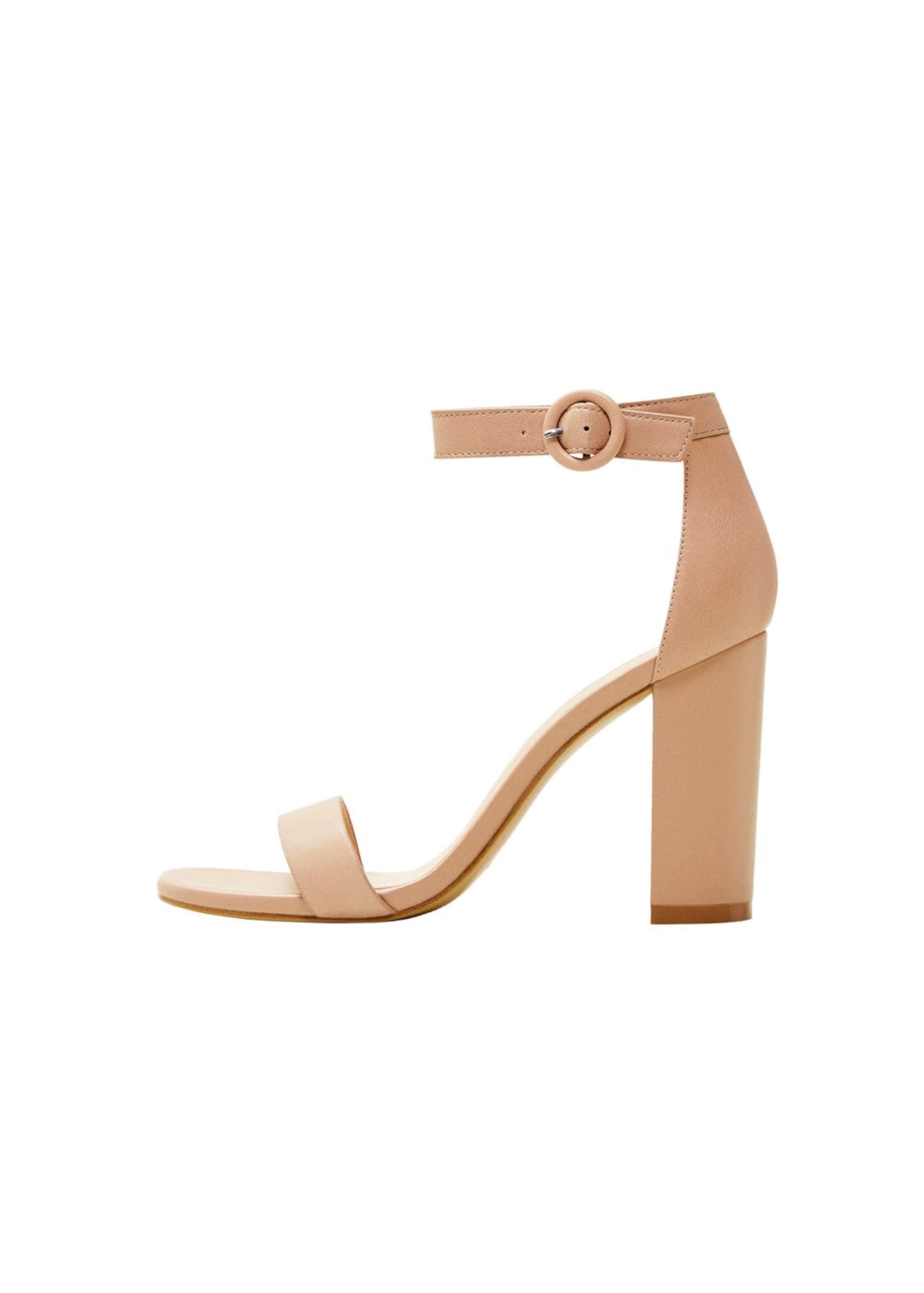 Sandaletten In Mango Sandaletten Mango 'tutti' Nude OZN8wnkX0P