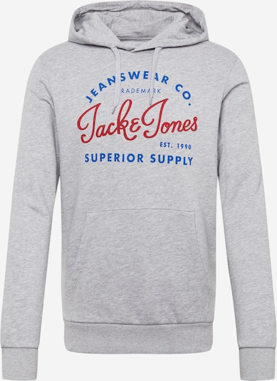 JACK & JONES Sweatshirt in hellgrau, Produktansicht