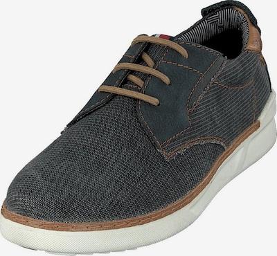 DANIEL HECHTER D. HECHTER-Sneaker in navy / braun, Produktansicht