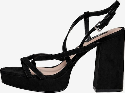 ONLY Strap sandal in Black, Item view