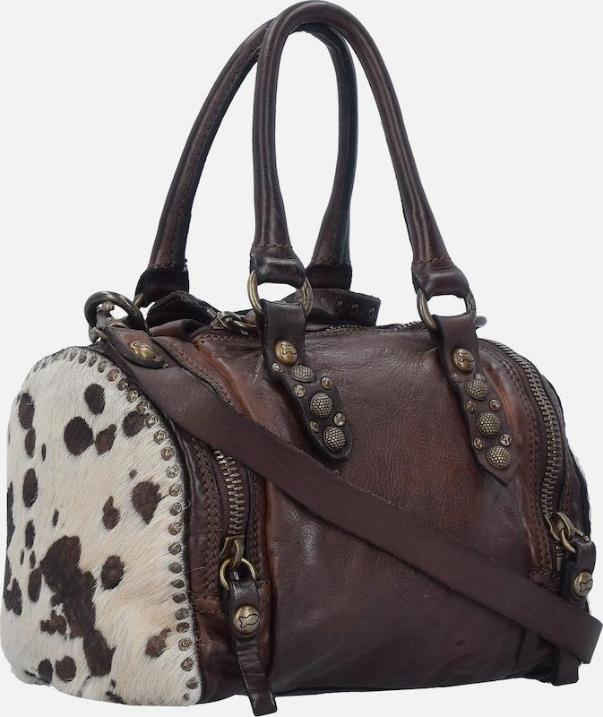 Campomaggi Top Box Mini Bag Handtasche Leder 20 Cm
