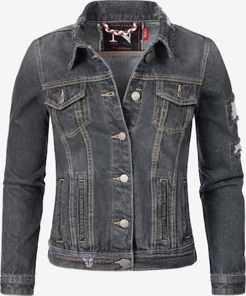 NAVAHOO Between-Season Jacket 'Pamuyaa' in Grey