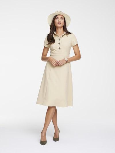 heine Kleid in beige, Modelansicht