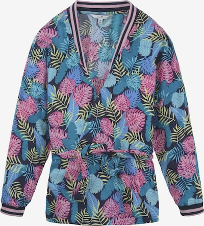 TOM TAILOR Jacke in blau / gelb / rosa, Produktansicht