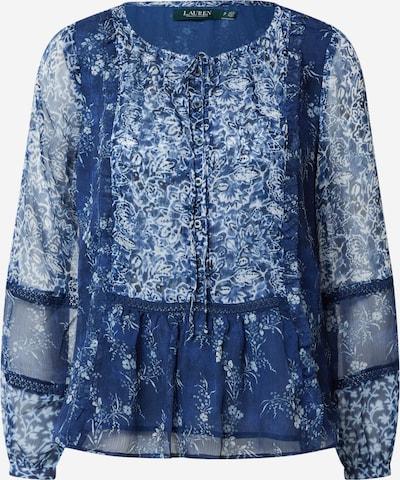 Lauren Ralph Lauren Blouse 'Chanan' in de kleur Donkerblauw / Wit, Productweergave