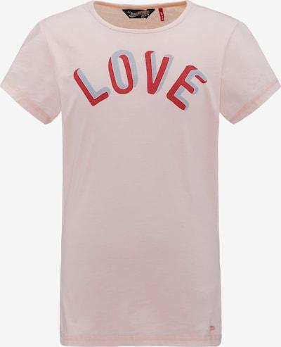 Petrol Industries T-Shirt in pink, Produktansicht