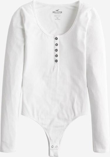 HOLLISTER Shirt 'Body' in weiß, Produktansicht