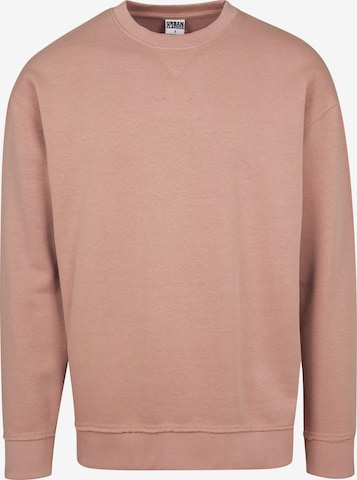 Urban Classics Sweatshirt i rosa