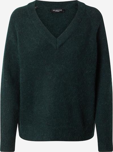 SELECTED FEMME Pullover 'Lulu' in dunkelgrün, Produktansicht