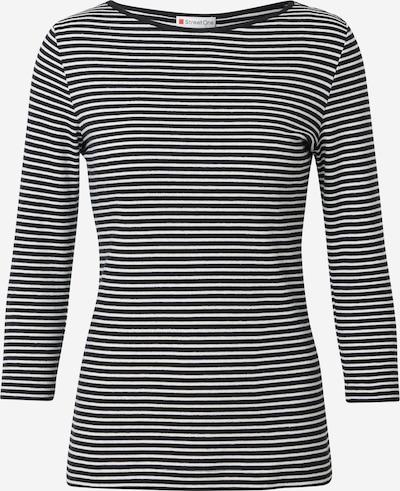 STREET ONE Tričko - černá / bílá, Produkt