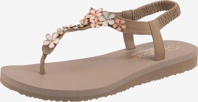 SKECHERS Sandale 'Meditation' in taupe, Produktansicht