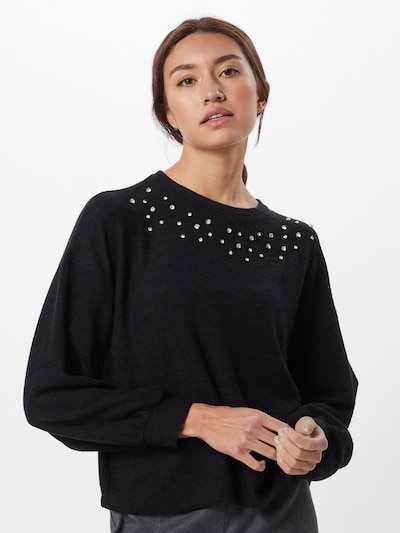 NEW LOOK Pullover in schwarz: Frontalansicht