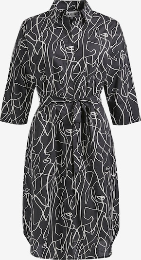 khujo Kleid 'Powka' in schwarz / weiß, Produktansicht