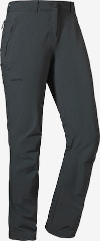 Schöffel Outdoor Pants 'Engadin' in Grey