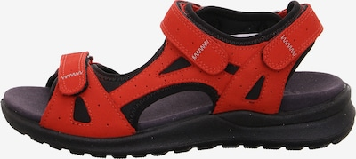 Legero Siris Outdoorsandalen in rot, Produktansicht