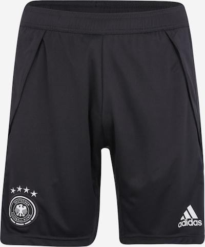 Sportinės kelnės iš ADIDAS PERFORMANCE , spalva - tamsiai pilka / balta, Prekių apžvalga