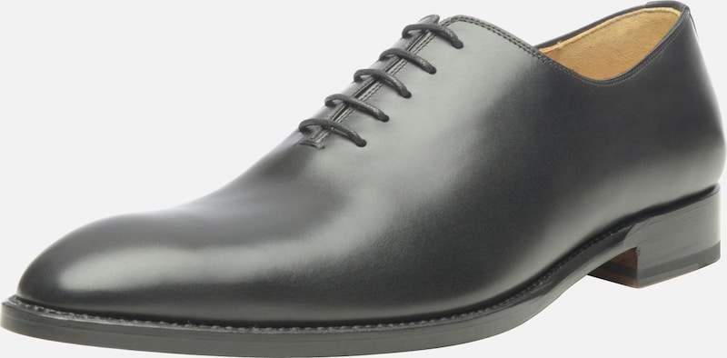 SHOEPASSION Businessschuhe 'No. 572' in schwarz: Frontalansicht