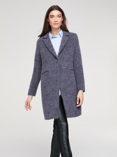 Rudeninis-žieminis paltas iš heine , spalva - pilka: Vaizdas iš priekio