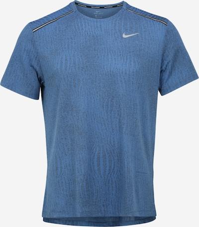 NIKE Funkční tričko 'DRY MILER SS JACQUARD' - modrá, Produkt