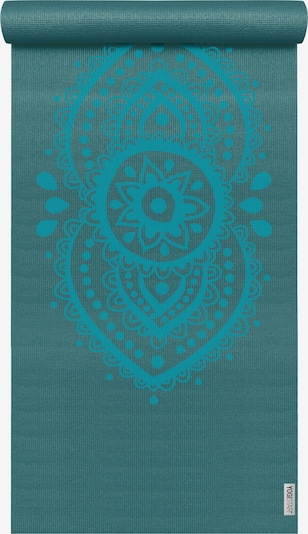 YOGISTAR.COM Yogamatte 'Basic Art Collection Ajna Chakra' in aqua / petrol, Produktansicht