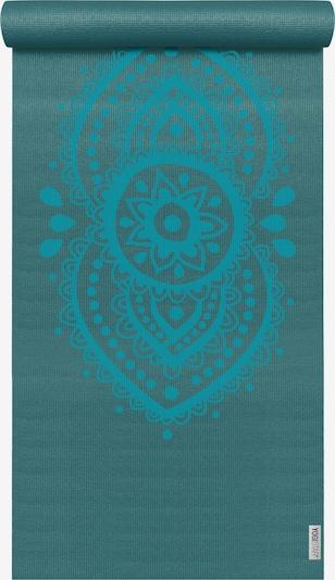 YOGISTAR.COM Yogamatte 'Basic Art Collection Ajna Chakra' in aqua / petrol, Produktansicht