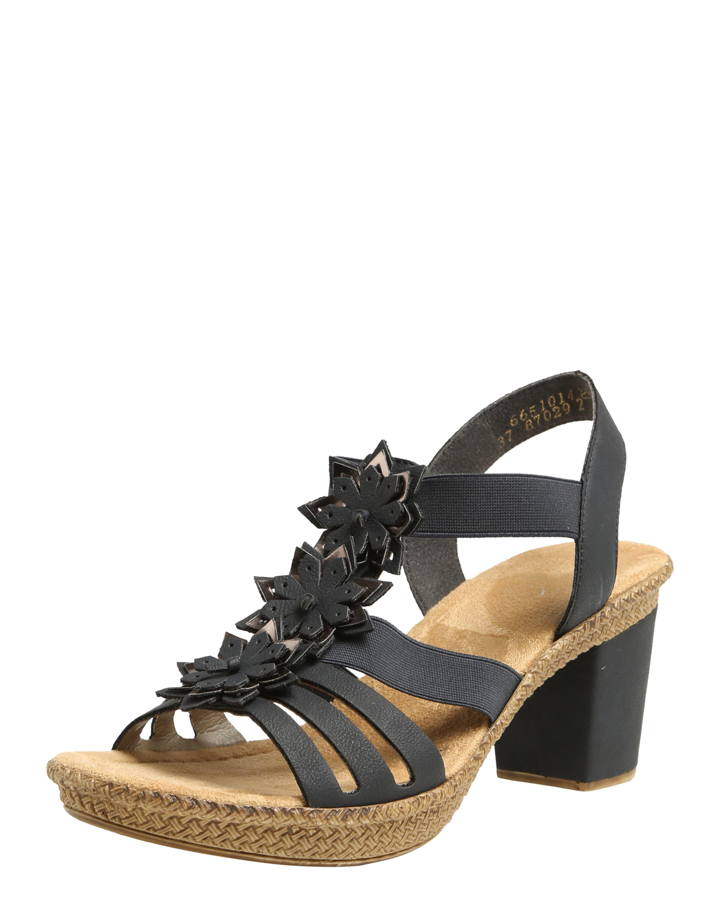 RIEKER Sandaletten Verschleißfeste billige Schuhe Hohe Qualität